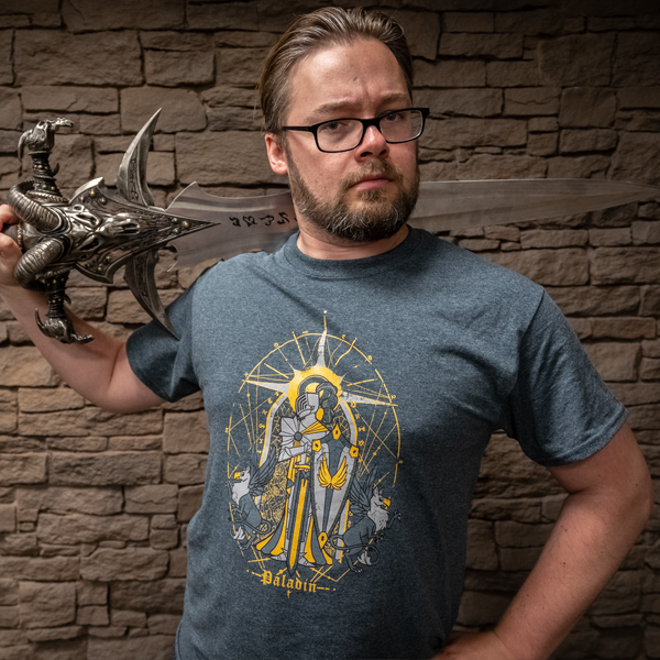 HighRollers Paladin T-shirt