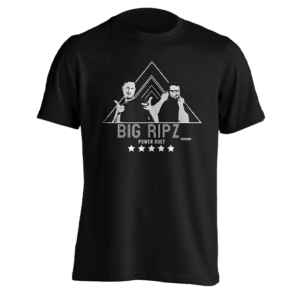Sips and Ravs Big Ripz T-shirt