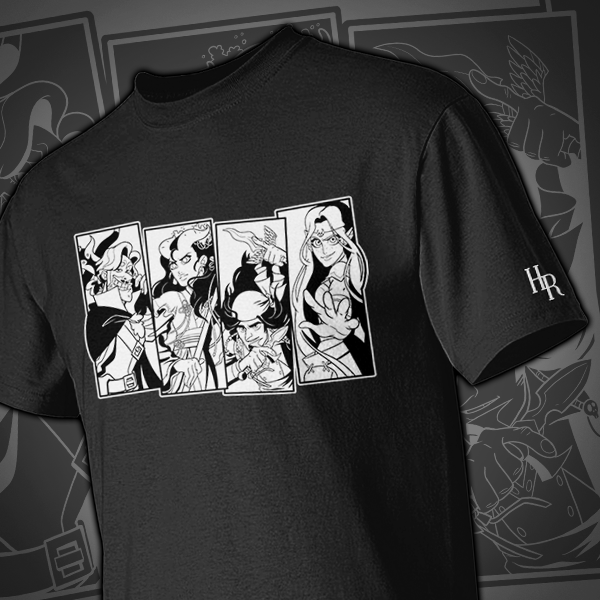 High Rollers Character Shirt