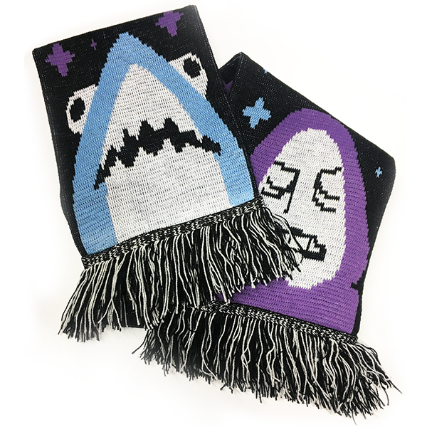 Sharky and Palp Scarf