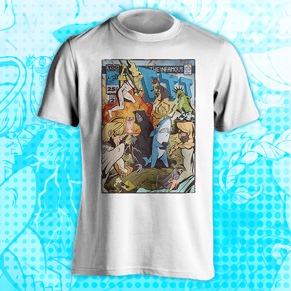 Yogscast Trouble In Terrorist Town TTT-Shirt Season 2