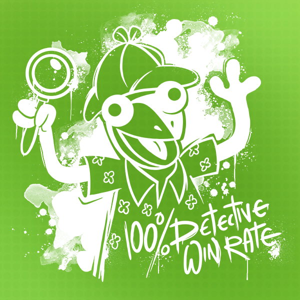 Zylus TTT 100% Detective Winrate T-Shirt