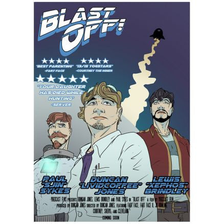 Yogscast: Blast Off (Blast Off) Limited Edition Poster