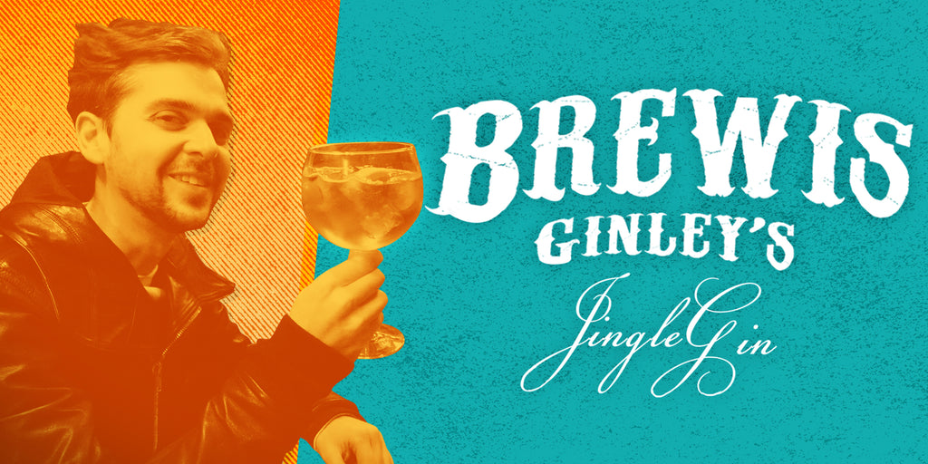 Brewis Ginley's Prohibition Jingle Gin