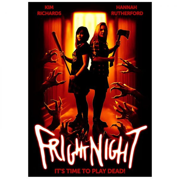 Kim & Hannah (Fright Night Movie) Poster