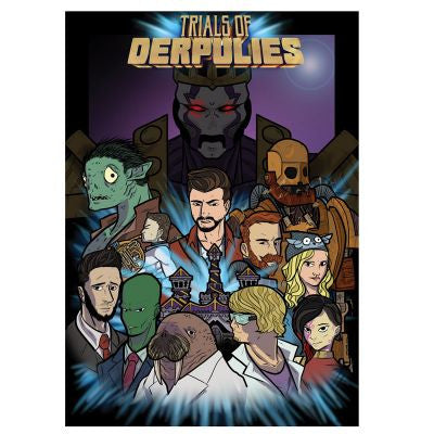 Yogscast: Trial Of Derpulies Limited Edition Poster