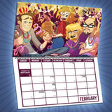 Yogscast: Lewis And Simon (2017) Calendar
