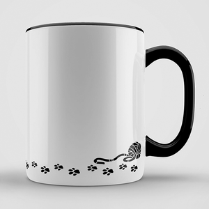 Hannah's Libby the Cat Mug