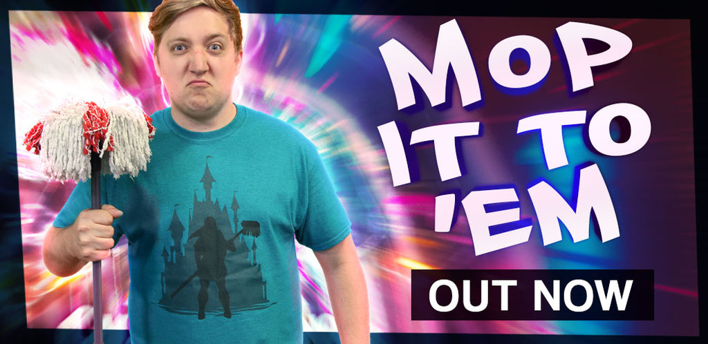 Martyn (Mop-It-To-Em) T-Shirt