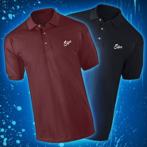 Sips (The Real Guy) Polo Shirt (Maroon)