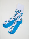 Sharky All Over Pattern Socks