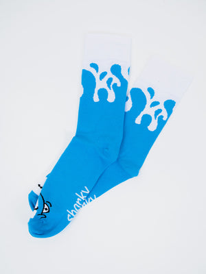 Sharky Wave Socks