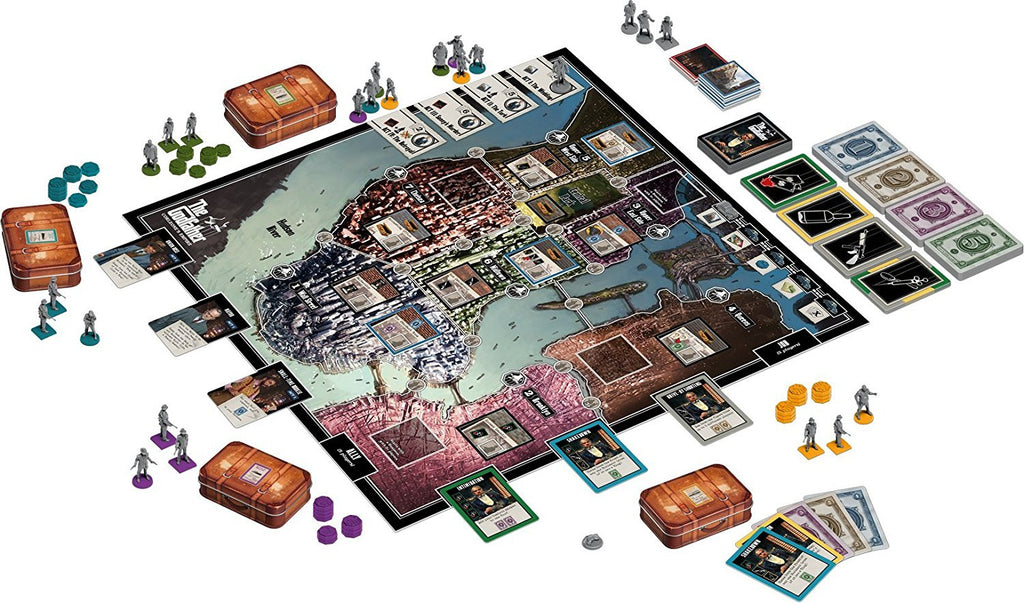 The Godfather: Corleone's Empire Boardgame