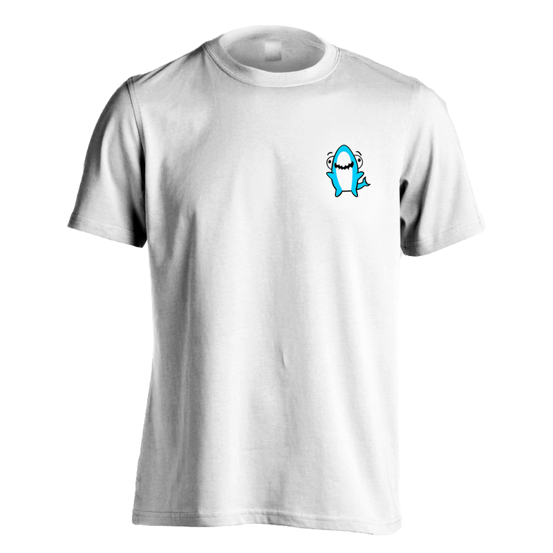 TTT Embrodered Sharky Character T-shirt