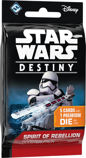 Star Wars Destiny Spirit of Rebellion booster pack
