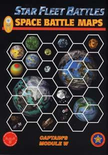 Star Fleet Battles: Module W: Space Battle Maps