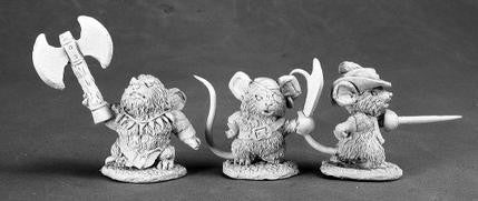 03522 Mouslings: Pirate, Savage, & Duelist - Leisure Games
