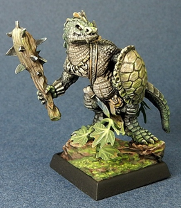 03705 Lizardman w/ Club & Shield - Leisure Games