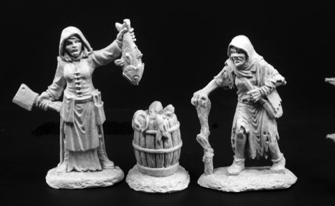 03789 Townfolk of Dreadmere - Fishwife & Crone - Leisure Games