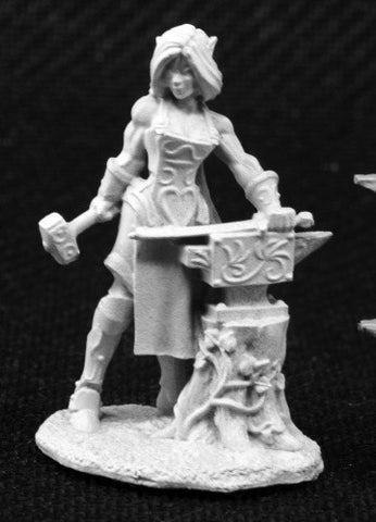 03803 Laril Silverhand, Female Elven Blacksmith - Leisure Games