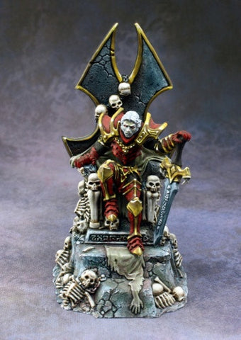 03807 Dragoth the Defiler, Undead Lord on Throne - Leisure Games