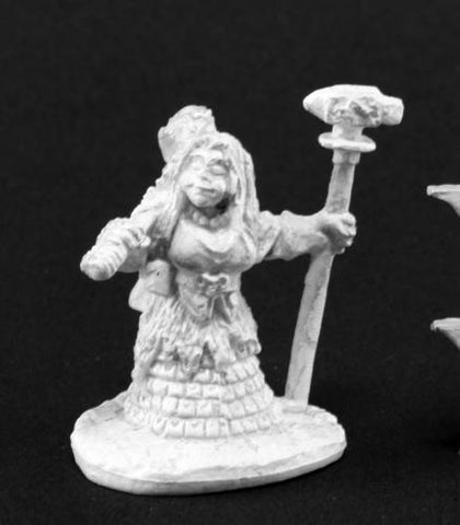 03835 Dwarf Forge Priestess (due in stock late September - Leisure Games