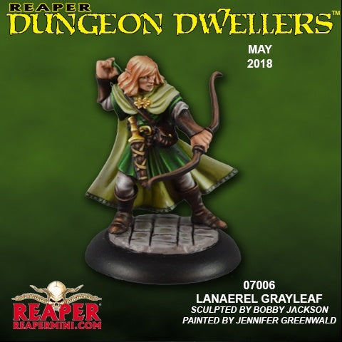 07006 Lanaerel Grayleaf, Elf Ranger - Leisure Games
