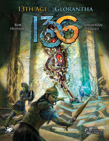 13th Age Glorantha + complimentary PDF - Leisure Games