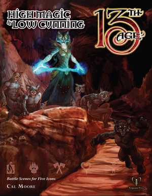 13th Age: High Magic & Low Cunning - Leisure Games