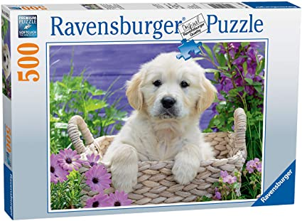 Jigsaw: Sweet Golden Retriever (500pc)