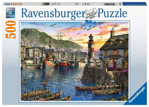Jigsaw: Sunrise at the Port (500pc)
