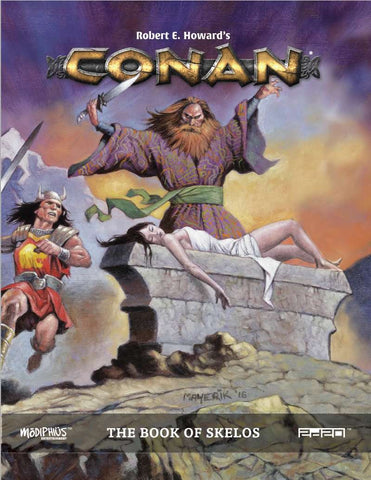 Conan RPG: Book of Skelos + complimentary PDF - Leisure Games