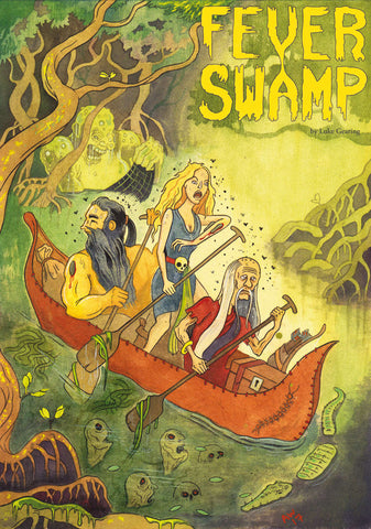 Lamentations of the Flame Princess: Fever Swamp