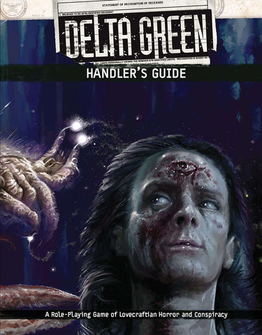 Delta Green: Handler's Guide + complimentary PDF