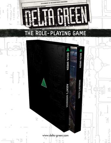 Delta Green: The Role-playing Game (hardback slipcase set) + complimentary PDF