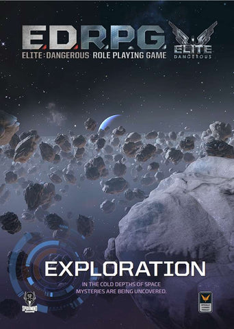 Elite Dangerous RPG: Exploration Sourcebook  - reduced