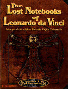 Castle Falkenstein RPG: The Lost Notebooks of Leonardo DaVinci