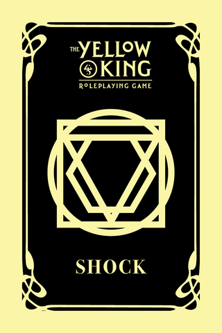 The Yellow King RPG: Shock Cards + complimentary PDF
