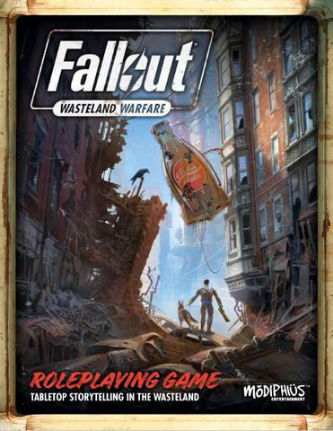 Fallout: Wasteland Warfare RPG Core Rulebook + complimentary PDF