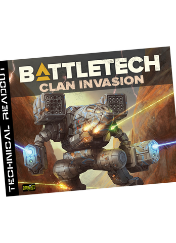 Battletech Technical Readout Clan Invasion (expected in stock on 17th September)