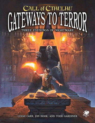 Call of Cthulhu 7th Edition: Gateways to Terror - Three Portals into Nightmare + complimentary PDF (expected in stock on 30th March)