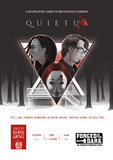 QUIETUS - A roleplaying game of melancholy horror + complimentary PDF (via online store)