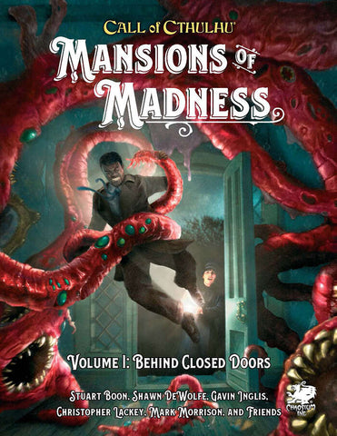 Call of Cthulhu: Mansions of Madness Vol. 1: Behind Closed Doors + complimentary PDF