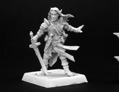 60005 Arael, Half Elf Cleric - Leisure Games