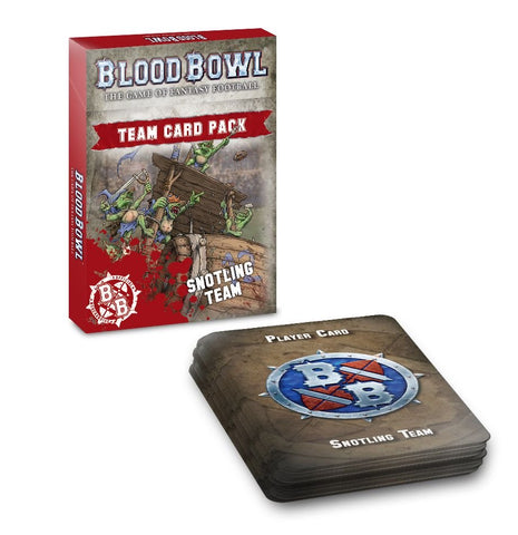Blood Bowl: Snotling Team Card Pack - reduced price