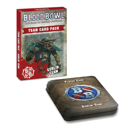 Blood Bowl: Goblin Team Card Pack - reduced price