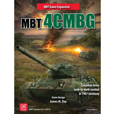 MBT 4CMBG: The Canadian Army in 1987 Tank-to-Tank Combat