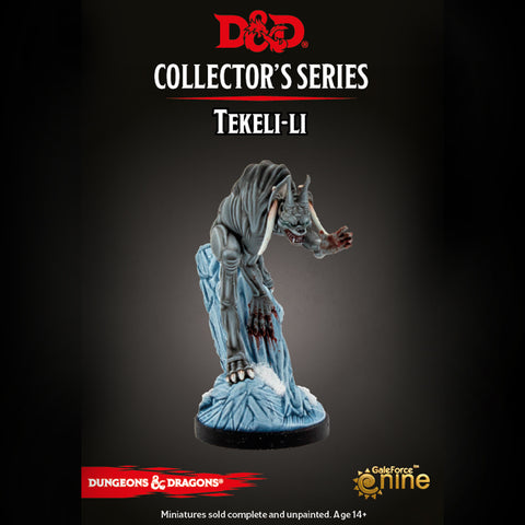 Dungeons & Dragons - Icewind Dale: Tekeli-li Miniature (expected in stock on 24th November)