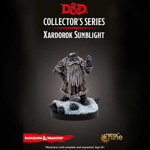 Dungeons & Dragons - Icewind Dale: Xardorok Sunblight Miniature