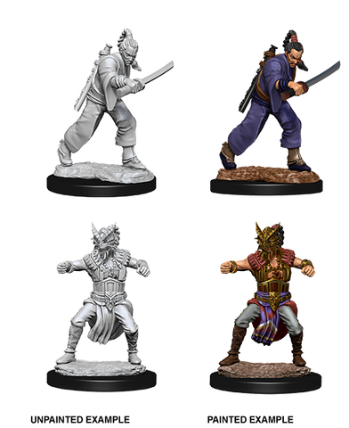 WZK73670: Male Human Monk: D&D Nolzur's Marvelous Unpainted Miniatures (W8) - pre-order expected May 2019